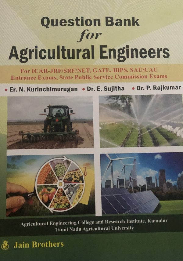 Ques. bank for agricultural engineers