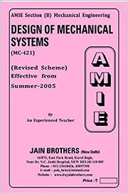 design of mechanical systems paper